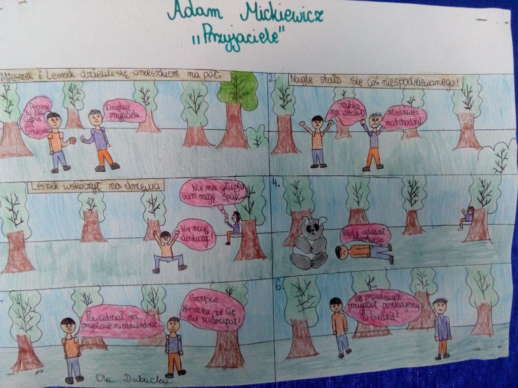 Konkurs Na Komiks Inspirowany Dziełami Adama Mickiewicza